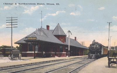 Chicago Northwestern Depot