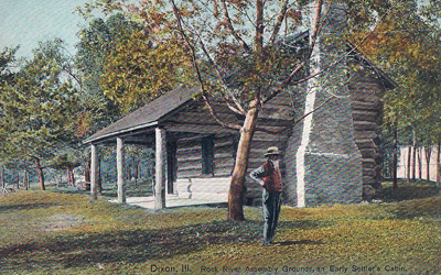 Old Settlers Log Cabin