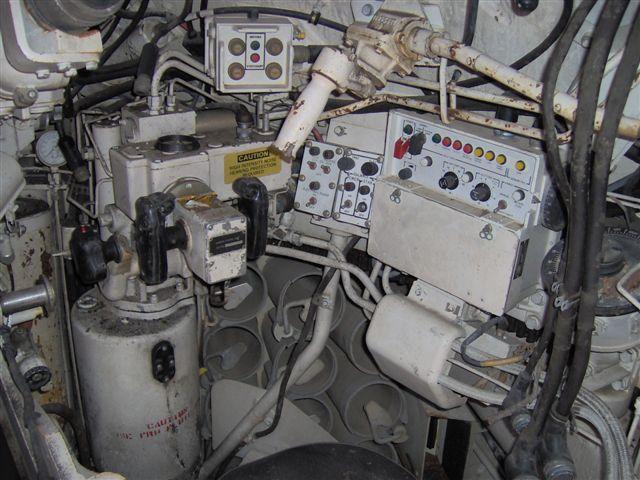 Paint Engine Inside Car