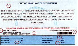 Billing Information / Rates | City of Dixon Illinois Government