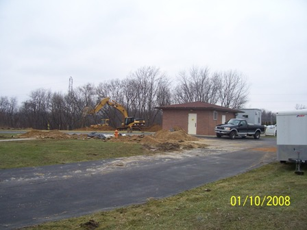 well 9 treatment facilities beginning construction