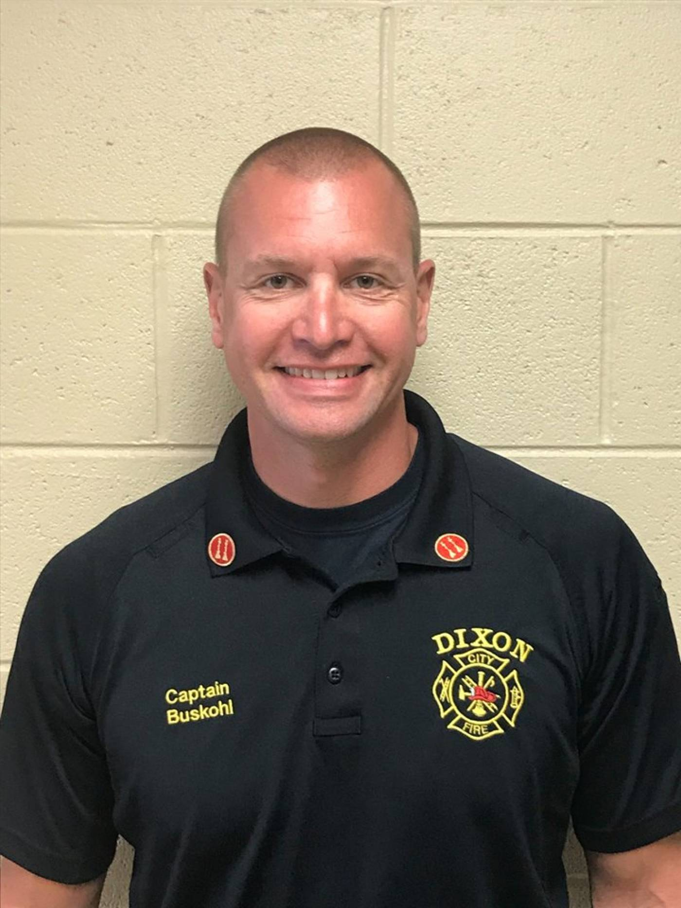 Fire Captain Ryan Buskohl named next Dixon Fire Chief