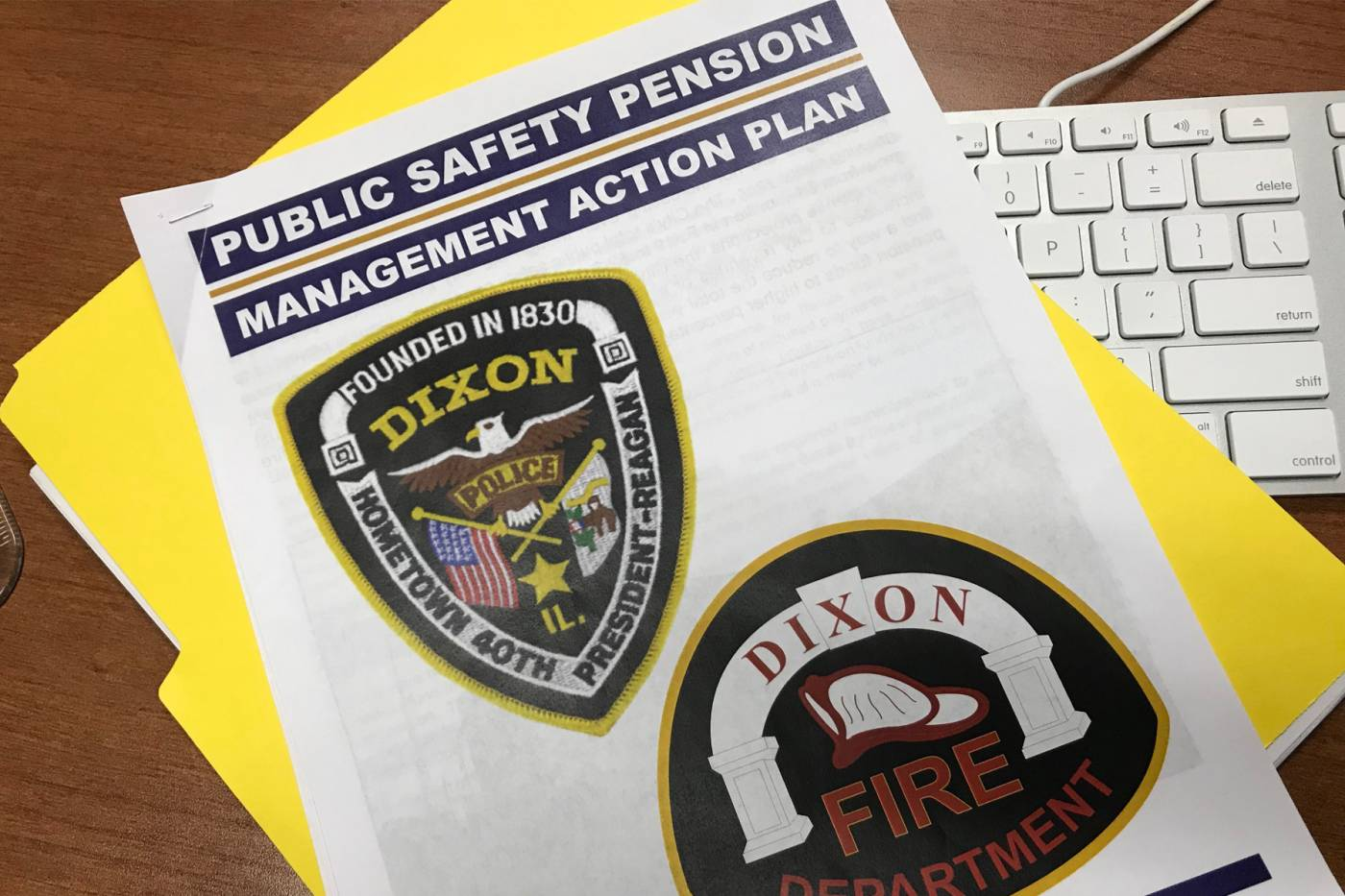 Public Safety Pension Management Action Plan