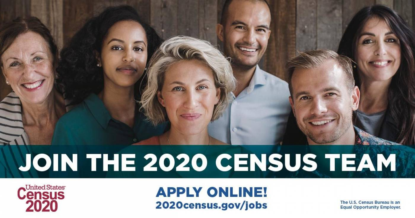 The U.S. Census 2020 Team Needs Workers!