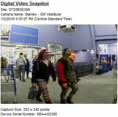 Seeking Assistance: Retail Theft at Walmart