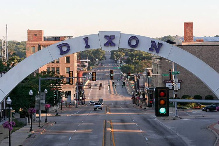 Dixon, Illinois. Our Hometown - More than 170 Years in the Making